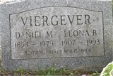 Daniel Matthew Viergever 1893-1979 and Leona Bertha Benchley 1907-1993