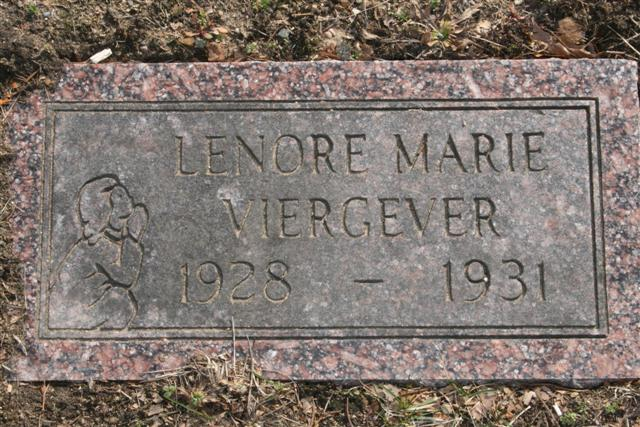 Lenore Marie Viergever 1928 - 19321