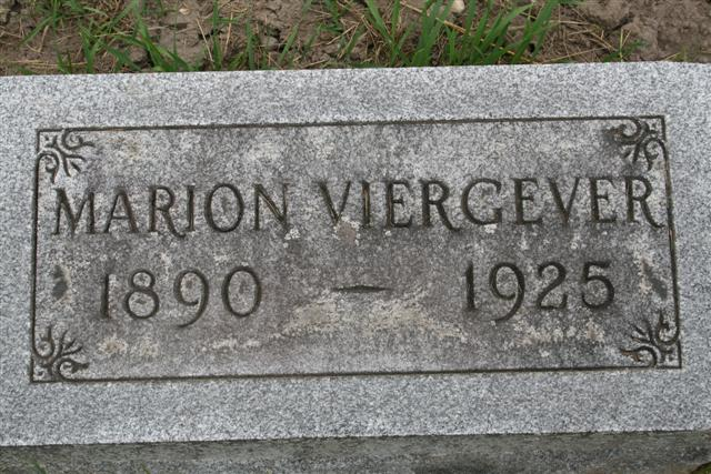 Marion Viergever 1890-1920