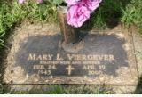 Mary Leta Lyon-Viergever 1943-2000 wife of Roger Harold Viergever