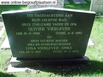Olivier Viergever 1926-1993 and Lena Sinke 1927-2010